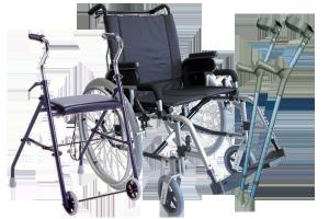 Noleggio articoli sanitari (aerosol, bilancia pesa-neonati, carrozzine, girello, inalatore termale, stampelle, tiralatte elettrico e manuale, magnetoterapia...e altri servizi)